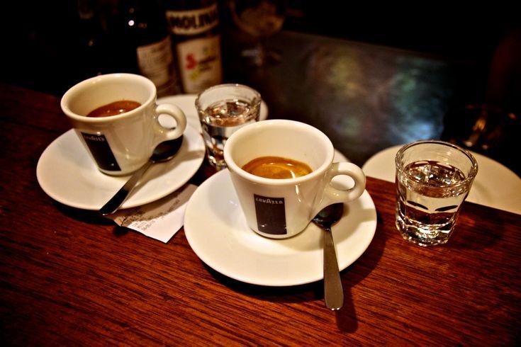 Il caffè all'Hotel Sole e mare