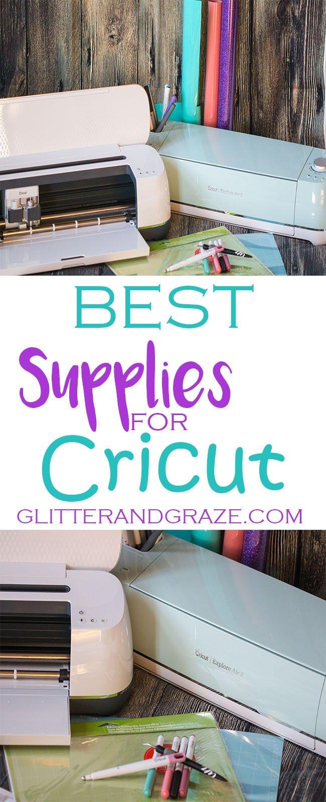 best supplies for cricut | Cricut project ideas | Cricut