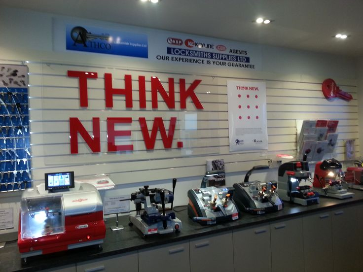 The extraordinary #THINKNEW showroom of #Keyline New Zealand distributor Athco Locksmiths Supplies Ltd!