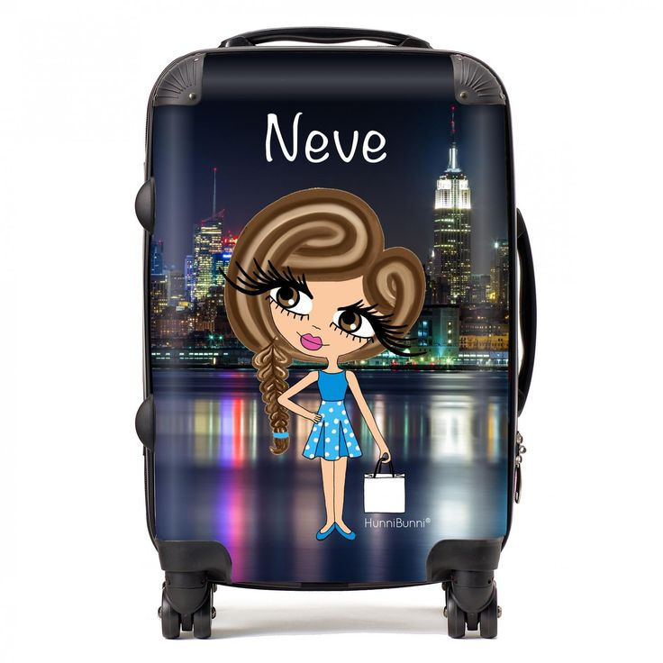 HunniBunni Little Miss New York Personalised Suitcase