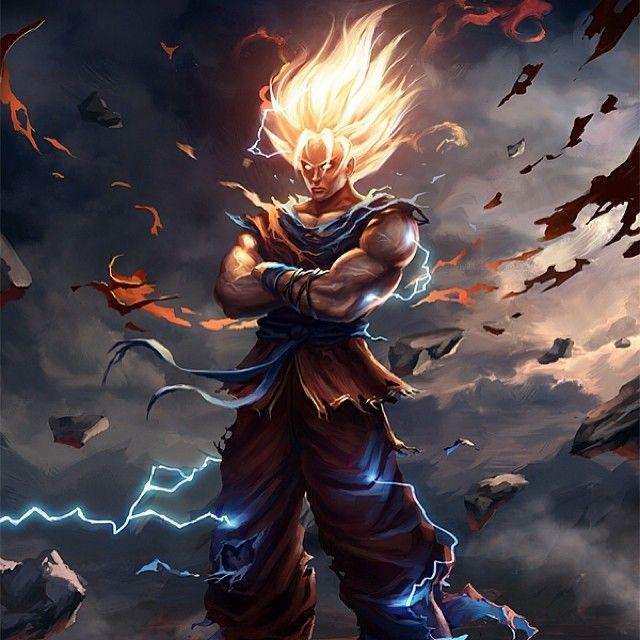 Super Sayian Goku True Warriors Lives Pinterest Goku