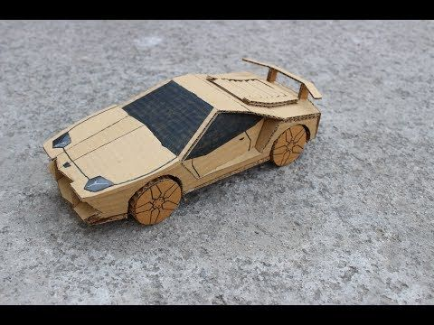 How To Make Super Rc Lamborghini Diy How To Make Electric Toy