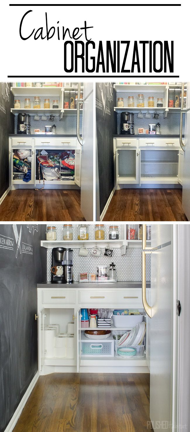 297 Best Kitchen   Organized Cabinets Images On Pinterest | Kitchen, Kitchen  Storage And Kitchen Organization