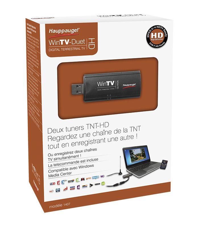 [CATALOGUE GÉNÉRAL 2015] WinTV Duet HD: Double tuner TNT HD pour PC. Double tuner TNT HD ultrasensible; Fonction Diversity (P-I-P); Télécommande et antenne inclus; Logiciel WinTV v7 HD pour PC. RÉF. 01407 http://www.exertisbanquemagnetique.fr/info-marque/hauppauge
