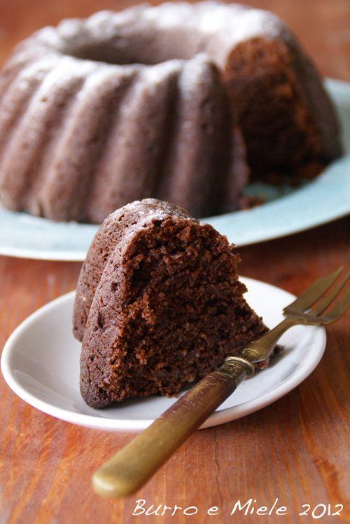 Burro e Miele: Torta di ricotta e cioccolato fondente,senza uova
