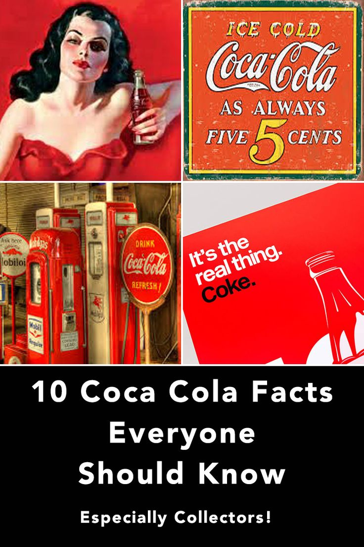Coca Cola facts seem endless. The companies products are sold in over 200 countries. It's branding is easily recognized around the globe. Here's 10 more fun facts about Coca Cola to share with your friends.