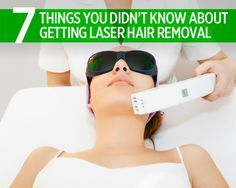 7 Things You Didn't Know About Laser Hair Removal  http://www.womenshealthmag.com/beauty/laser-hair-removal