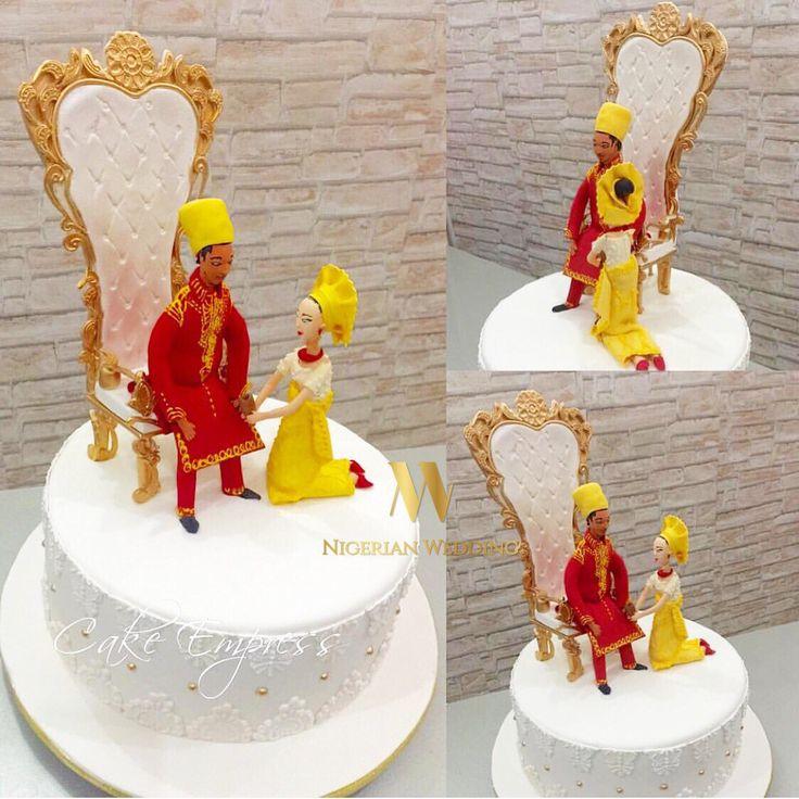 nigerian traditional wedding cakes designs | ... Traditional Wedding Cakes By…