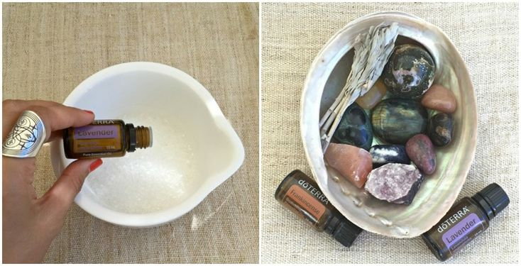 Bath and Face soak with Essential Oils