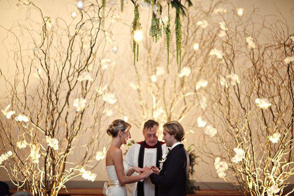 enchanted forest wedding via Ruffled