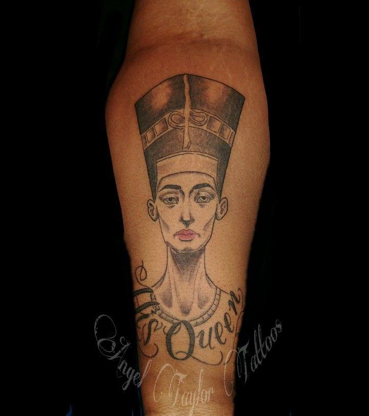 25 beste idee n over nefertiti tattoo op pinterest egyptische tattoo tatoeage tekeningen en. Black Bedroom Furniture Sets. Home Design Ideas