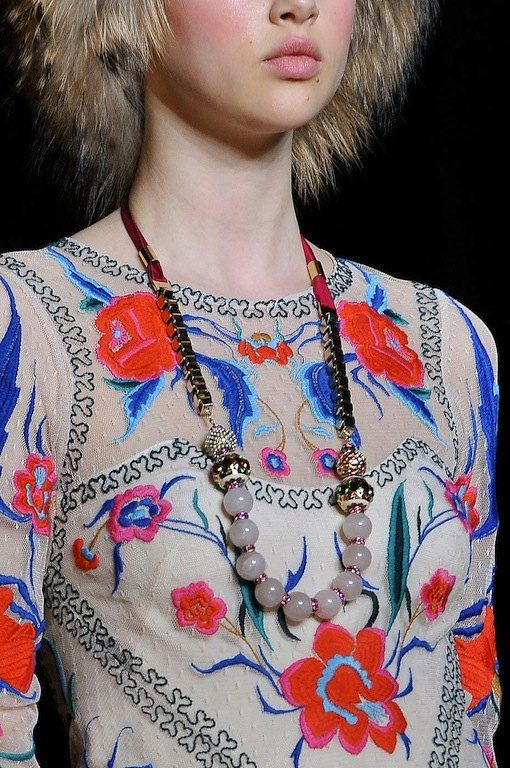The Terrier and Lobster: Temperley London Fall 2012: Russian Folk Florals, Piano Shawls, and Renaissance Prints