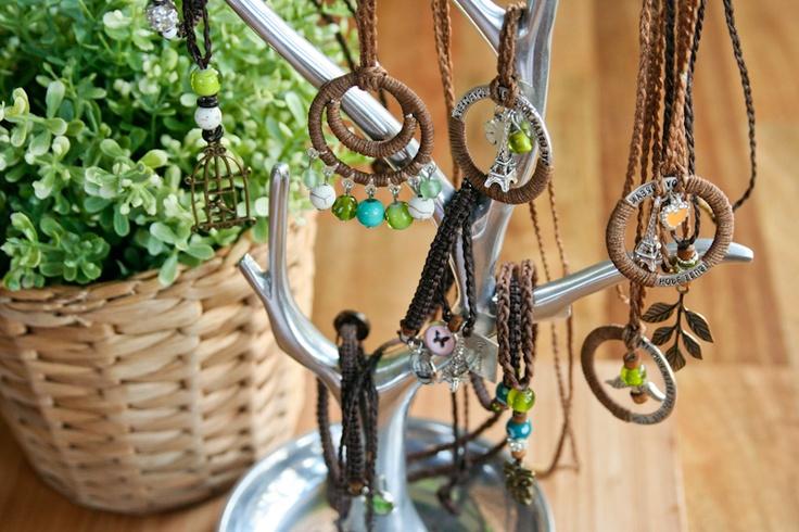 Gorgeous handmade pendants and bracelets from Noosa Handmade