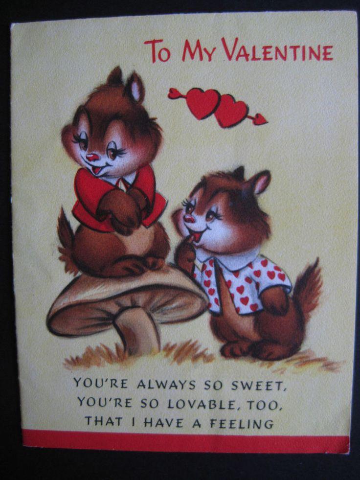206 best Vintage Ephemera images – Valentines E Cards Hallmark