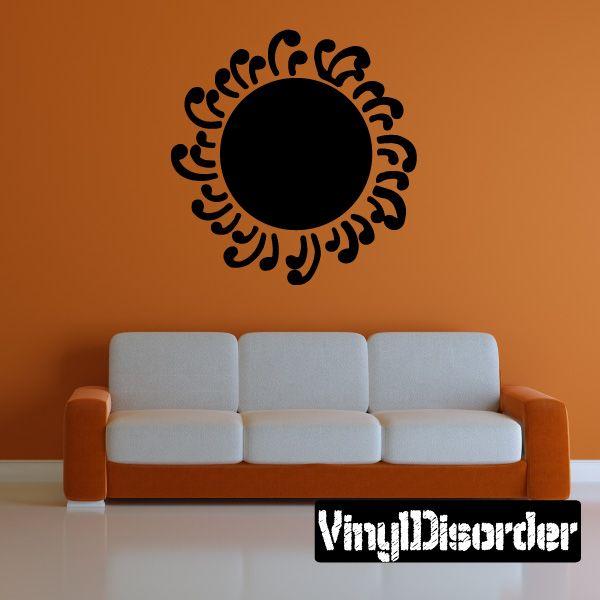 Sun Southwestern Wall Decal - Vinyl Decal - Car Decal - 041