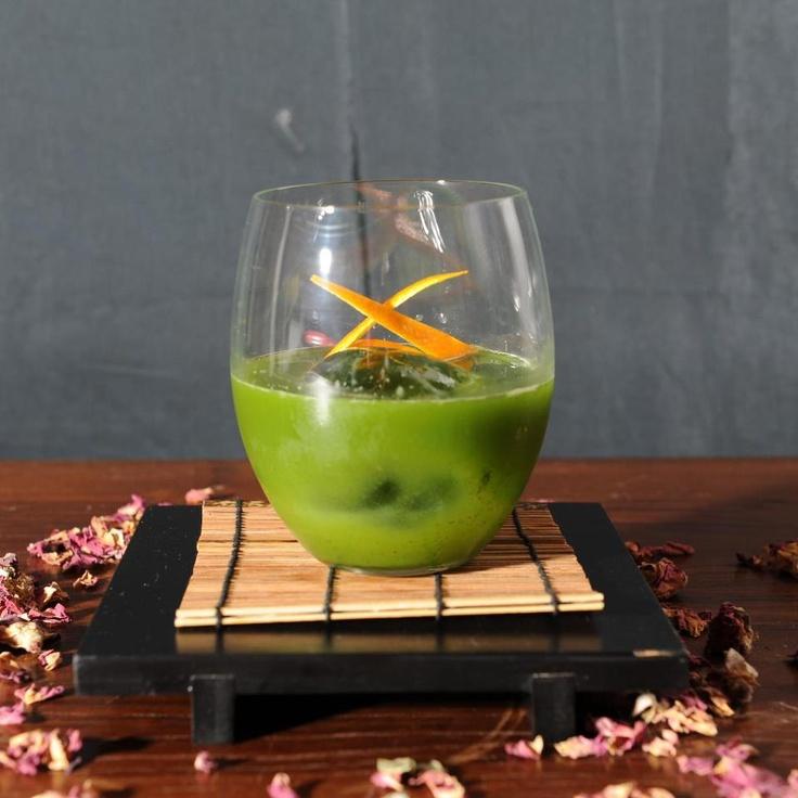 "Cocktail Green Apple - get recipe in FB profile - Trust me I'm ""Bartender"""