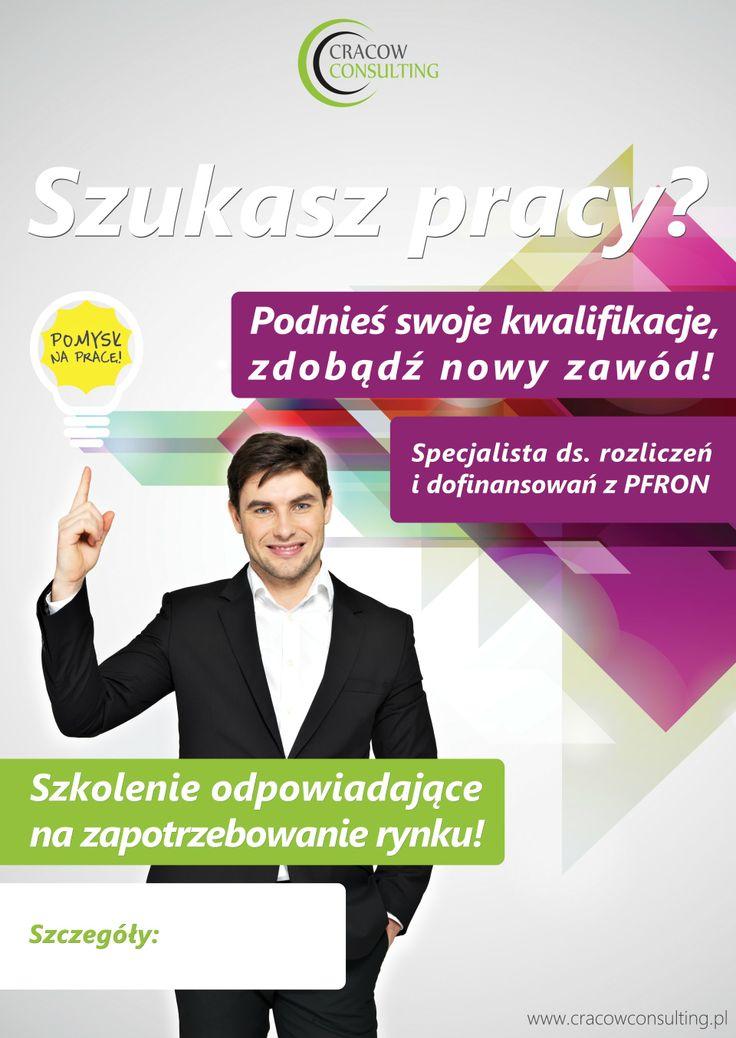 CracowConsulting.pl - plakaty rozwieszane w Urzędzie Pracy