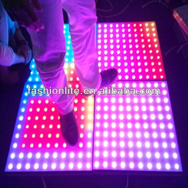 Led Interactive Dance Floor for nightclub/bar/stage lighting