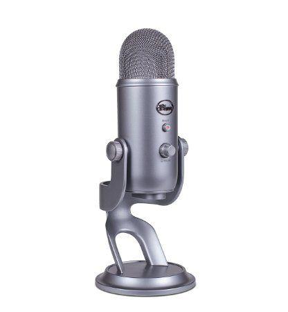 Blue Yeti USB Microphone - Space Gray  http://amzn.to/2lVlDkG