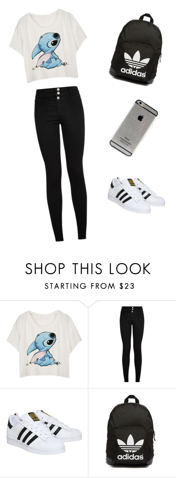 """#Mégane #Meilleure !! "" by cindygino ❤ liked on Polyvore featuring mode, adidas et adidas Originals"
