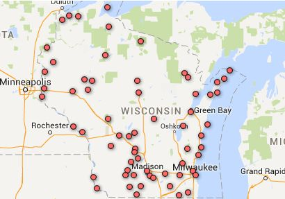 Just in time for travel season, check out the interactive guide to Wisconsin state parks & forests.