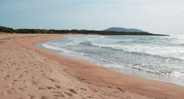 Marathoupoli Beach, Kalamata, Messinia, Peloponnese, Greece