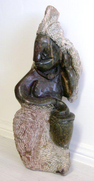 Making music - African Shona Sculpture