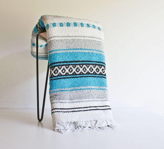 Vintage Mexican Blanket 7