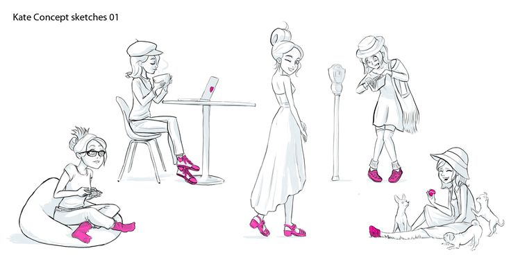 There are many sides to Kate as Beautifully Illustrated by Lead Animator Jesus Colon
