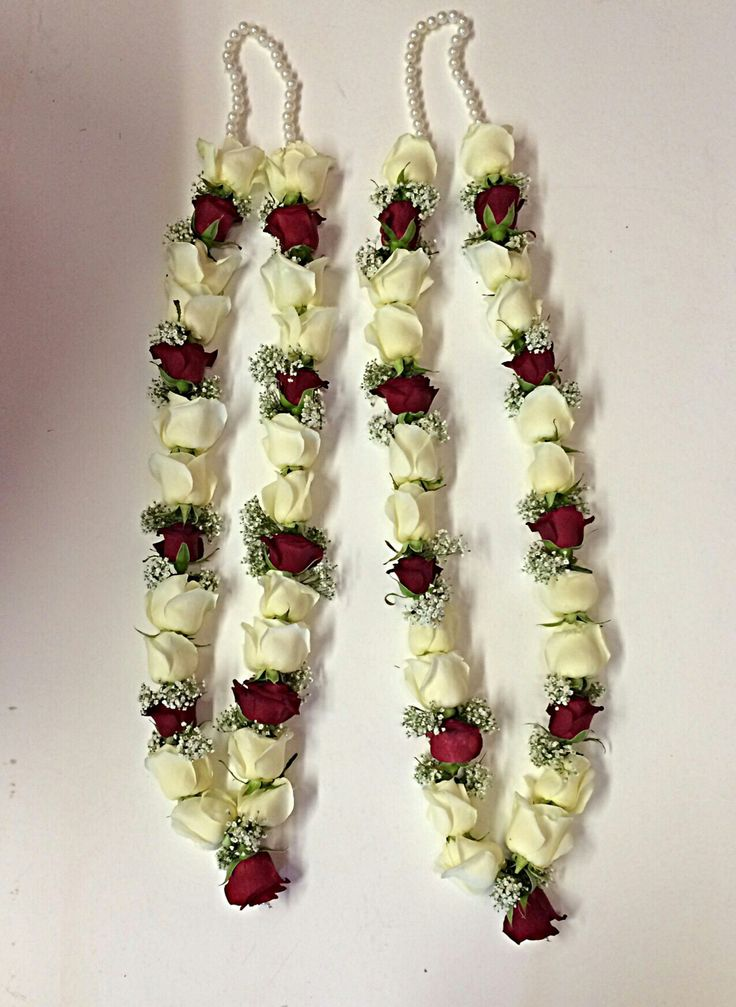 A garland of roses
