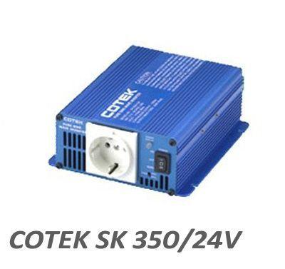 ΜΕΤΑΤΡΟΠΕΑΣ Cotek SK350-24V, 350 WATT 24V για φωτοβολταικά