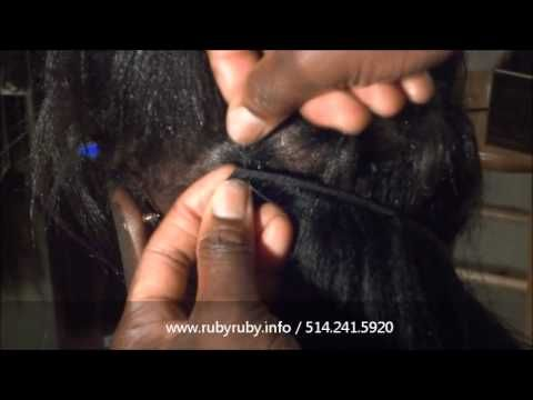 17 Best images about Weave/extension techniques on Pinterest | How to braid, Flats and Lace closure