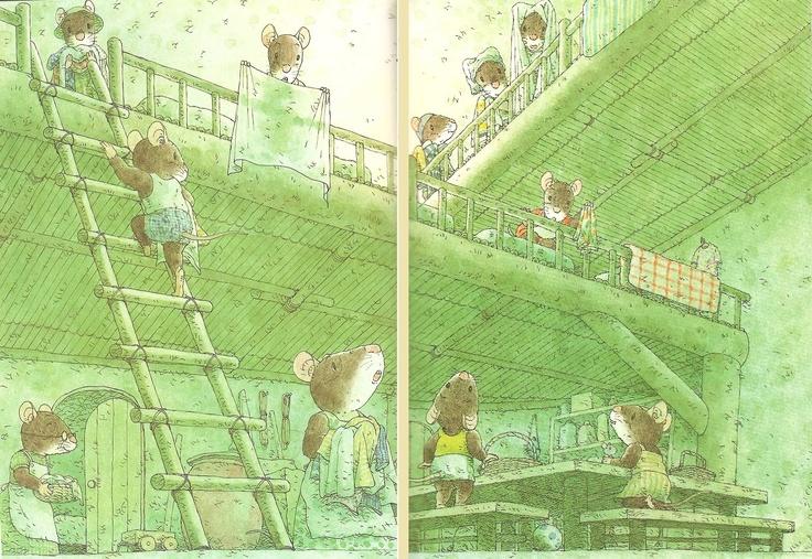Fourteen Forest Mice, by Kazuo Iwamura