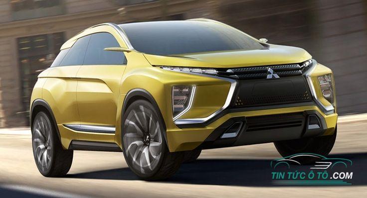 Mitsubishi eX Concept ra mắt ở Bắc Mỹ tại sự kiện Los Angeles