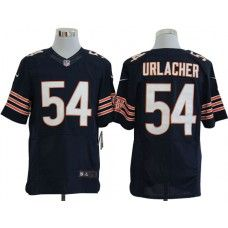 83d1c36f4 ... Nike Brian Urlacher Jersey Elite Team Color Blue Chicago Bears 54 Youth  ...