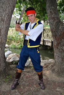 Pirate Jake Orange County and Los Angeles Singing Party Characters for hire - Party Characters. www.PartyPrincess... (949) 407-9474
