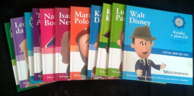 Kolekcja multimedialna dla dzieci Mali Geniusze
