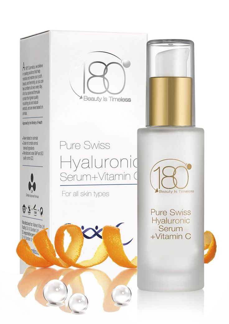 Cyber Monday Deal - 180 Cosmetics Hyaluronic Acid and Vitamin C - Best wrinkle treatment - ! Hyaluronic serum hydrates, protects skin - One of the best anti aging products - Highest concentration hyaluronic acid serum keeps you looking, feeling young - Value Pack, 1oz / 30 ml. - Cyber Monday Sale 2015: