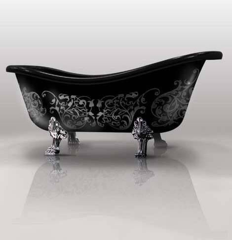 I would absolutely love a bath tub like this.