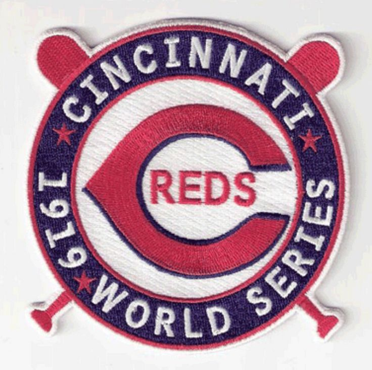 Cincinnati Reds 1919 World Series Patch