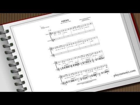 """Form"" is a song by Lech Janerka from album ""Plagiaty"" (eng. ""Plagiarism""). We present main vocal melodic line with guitar accompaniment.  Sheet music of this song is available at: https://playournotes.com/en/sheet-music/forma"