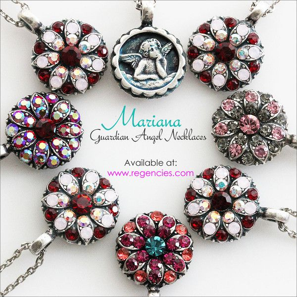 Mariana Guardian Angel Necklaces. Available at www.regencies.com