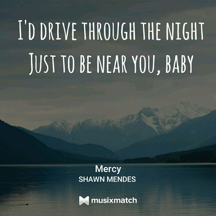 Mercy, Shawn Mendes