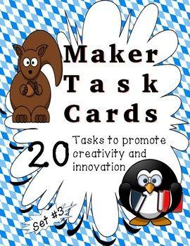 Makespace Task Cards - Set #3