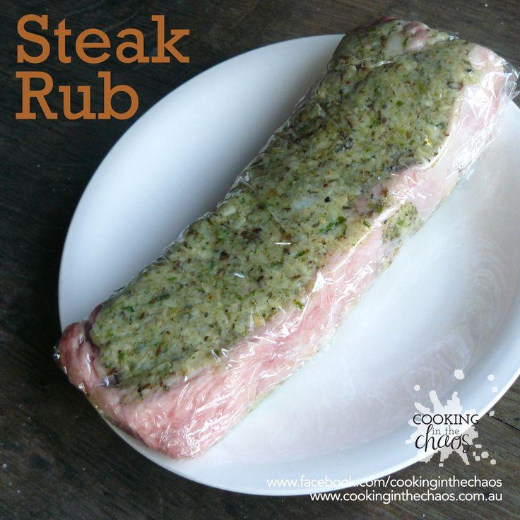 Steak Rub - Thermomix Recipe