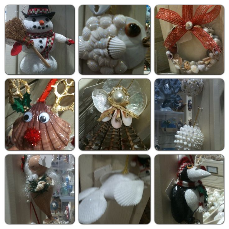 114 best images about shell angels and crafts on pinterest for Seashell ornaments diy
