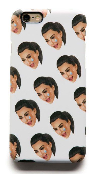 Kim Kardashian Kimoji phone case
