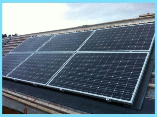 Solar Roof Paneling