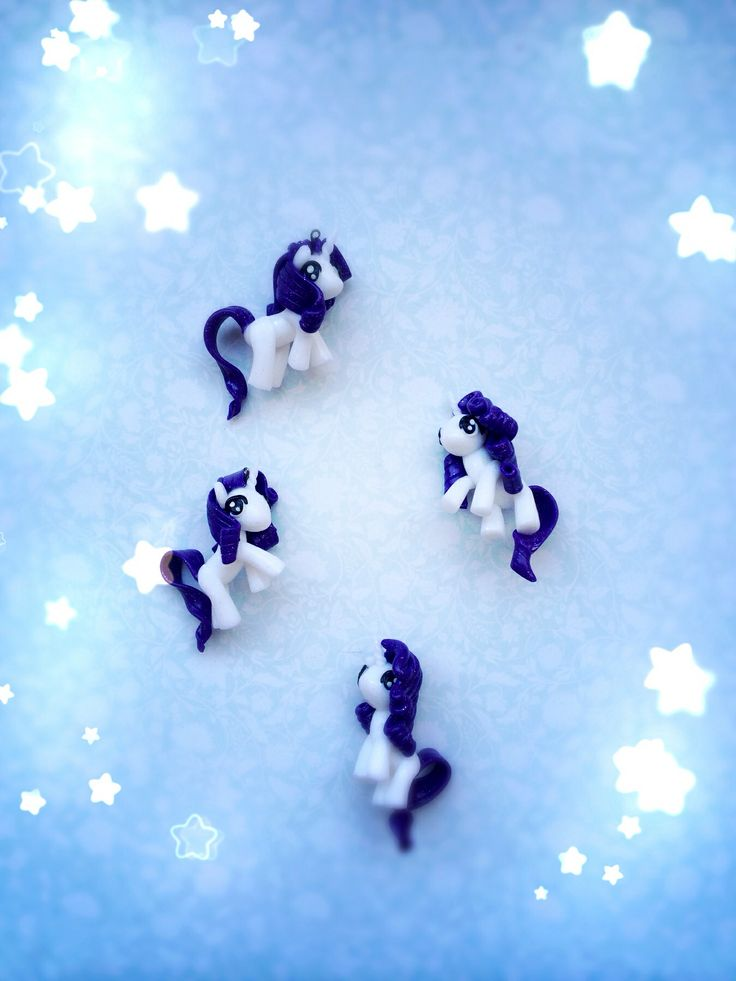 My little pony, Rarity, polymer clay, necklace.  https://www.facebook.com/pages/Heather-Designs/176714225718231
