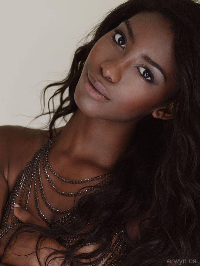 Beauty Darkskin Makeup Portrait Darkskin Blackwomen: Brown Girls Are Beautiful